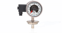 Thermometers with switch contacts
