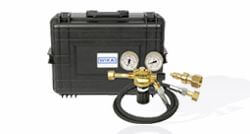 Hoses and gas refill sets